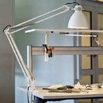 Luxo L-1 LED desk lamp, white