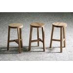 Made by Choice Lonna bar stool, 74 cm, oak