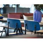 HAY Result chair, black - dark blue