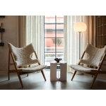 Menu Knitting Chair, oak - sheepskin Moonlight 09
