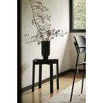 Menu Passage stool, dark oak