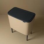 Brabantia Bo Touch Bin roska-astia 11 + 23 L, Sense of Luxury, kulta