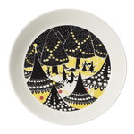 Arabia Moomin plate set, Yellow & Hurray!