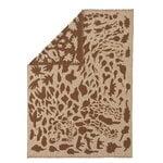 Iittala OTC Cheetah blanket, brown