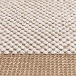 Muuto Pebble rug, burnt orange