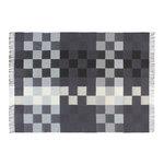 Silkeborg Uldspinderi Plain Beat throw, dark grey notes