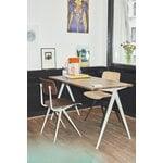 HAY Result chair, beige - smoked oak