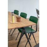 HAY Result chair, black - forest green
