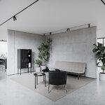 Nichba Sivupöytä, pyöreä, 45 cm, musta