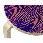 Artek Aalto jakkara 60 ColoRing, koralli - violetti
