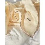 Tekla Wool blanket, 130 x 180 cm, cream white