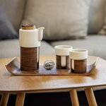 Tonfisk Design Warm teapot 6 dl, walnut, cork lid