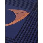 &Tradition The Eye AP9 bedspread, 240 x 260 cm, blue midnight