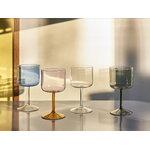HAY Tint wineglass, 2 pcs, pink - yellow