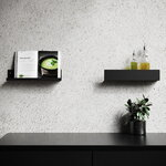 Nichba Shelf U40 seinähylly, musta