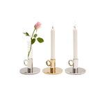 Klong Vesper candleholder, aluminium