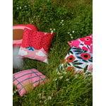Marimekko Pieni Unikko tyynynpäällinen 50 x 50 cm, valkoinen - punainen
