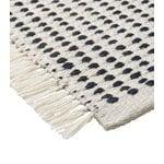 Ferm Living Way rug,  70 x 180 cm, off white - dark blue