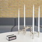 STOFF Copenhagen STOFF Nagel kynttilänjalka, kromi