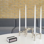 STOFF Copenhagen STOFF Nagel candleholder, chrome