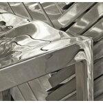 Emeco 1006 Navy baarituoli, 61 cm, harjattu alumiini