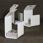 Artek Kanto magazine / firewood rack, white