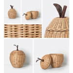 Ferm Living Small Apple braided basket