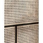 Design House Stockholm Air senkki, matala, musta - rottinki