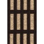 Woodnotes New York rug, black - natural