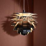 Louis Poulsen Lampada PH Artichoke, 480 mm, nera