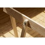 Wooden Treehorse trestles, ash