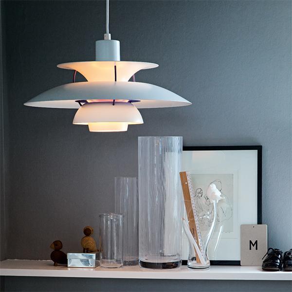 Louis Poulsen Ph 5 Classic Pendant White Finnish Design