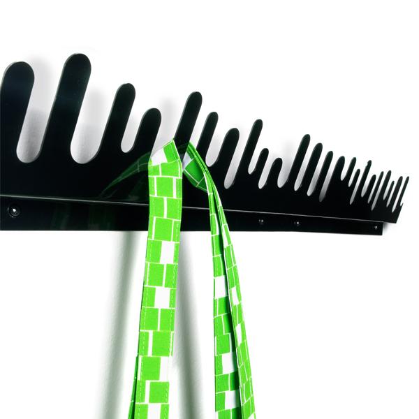 design house stockholm wave hanger, 2-pack | coatracks & hooks