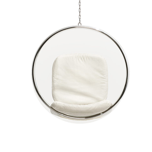 eero aarnio originals bubble chair white finnish design shop. Black Bedroom Furniture Sets. Home Design Ideas