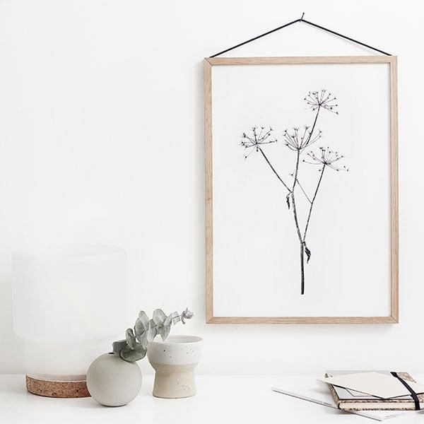 RK Design September Flowers #3 juliste  Finnish Design Shop