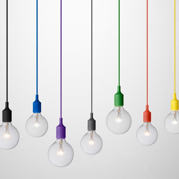 Muuto lampadina di ricambio per lampada e27 18 w for Aparte lampen