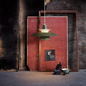 Louis Poulsen PH 5 Contemporary riippuvalaisin, armyvihreä
