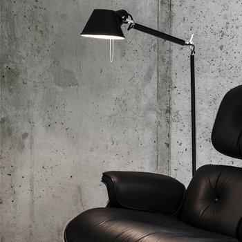 Artemide Tolomeo Lettura floor lamp, black