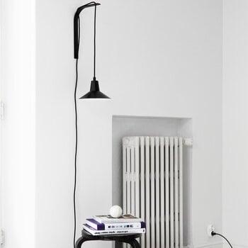 Studio Joanna Laajisto Edit seinävalaisin, musta-musta