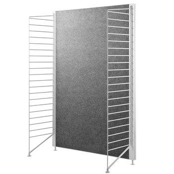 String String floor panel, 115 x 30 cm, 2-pack, white