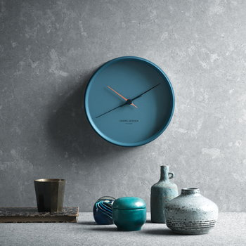 Georg Jensen HK kello, sininen, iso