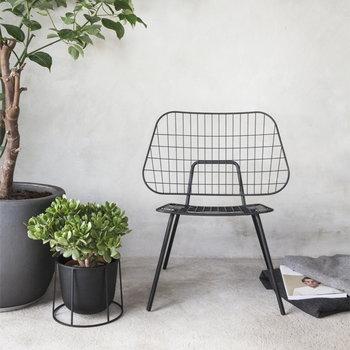 Menu WM String lounge chair, black