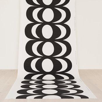 Marimekko Tessuto Kaivo, bianco e nero