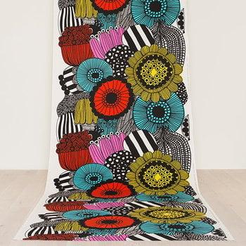 Marimekko Siirtolapuutarha fabric, colourful
