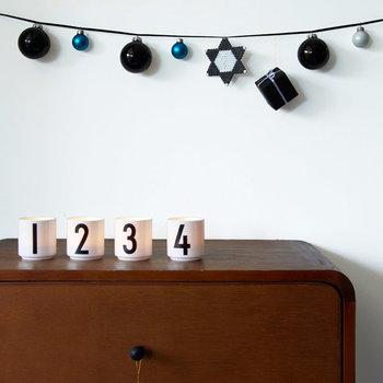 Design Letters Arne Jacobsen espresso cups, set of 4