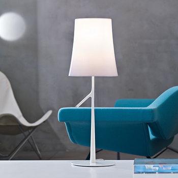 Foscarini Birdie table lamp, small, white