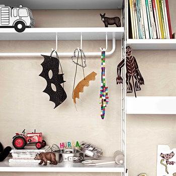 String String metal shelf, 78 x 30 cm, high, grey