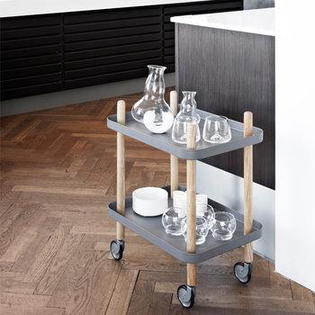 Normann Copenhagen Block table, light grey