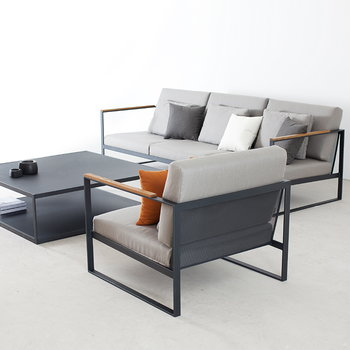 Röshults Garden Easy sofa, 3-seater