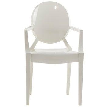 Kartell Louis Ghost tuoli, valkoinen